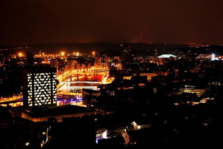 La cité administrative durant la Nuit des Coteaux