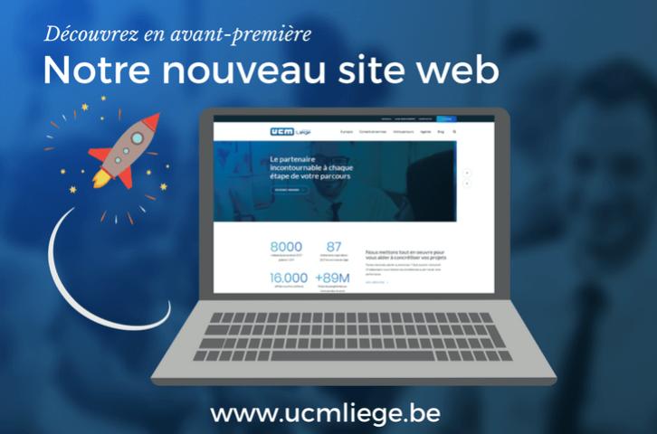 Un nouveau site web pour l'UCM Province de Liège