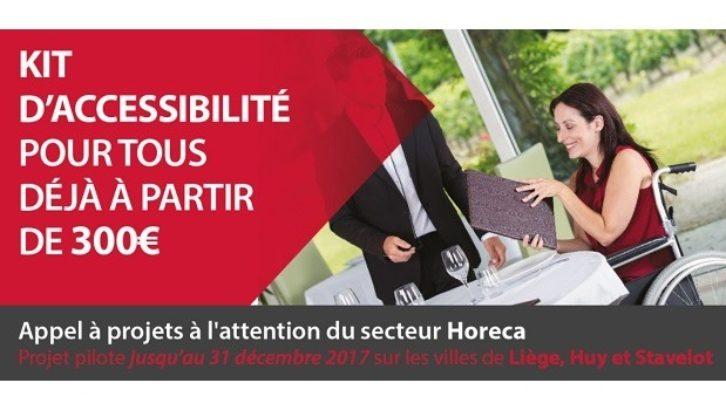Kit d'accessibilité des PMR pour l'Horeca