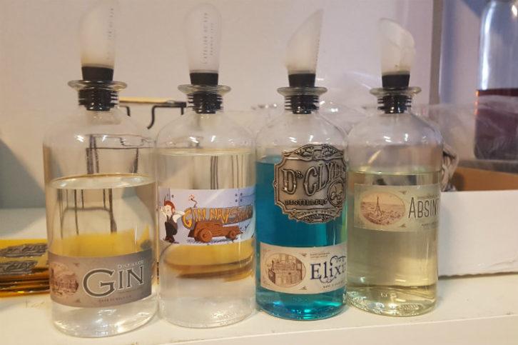 La Gamme Herbals Dr Clyde : Gin, absinthe, elixir